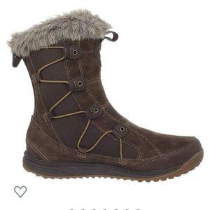 TEVA Little Cloud Winter Waterproof Boots Brown